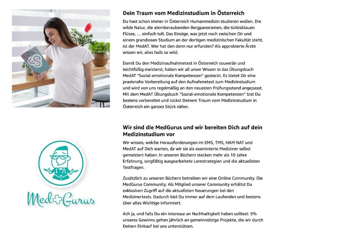 A+ Content auf Amazon mit Zusatzinformationen anreichern_Beispiel MedGurus